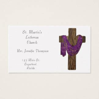 cross business card templates wooden cross business cards templates zazzle