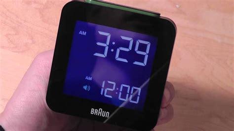review braun global radio controlled alarm clock bnc