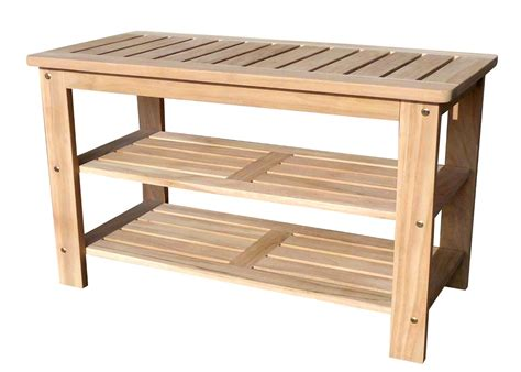 shoe bench outdoor shoe rack