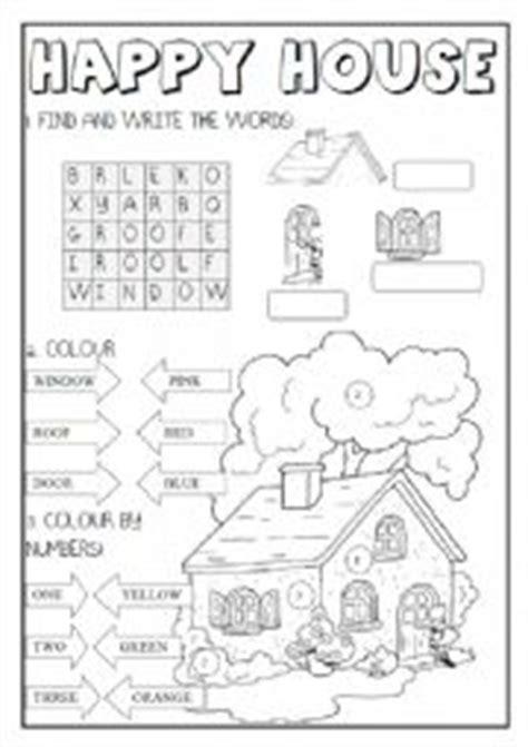 Happy Numbers Worksheet by Worksheet Happy House Vzd茆l 225 V 225 N 237