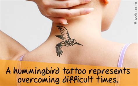 interesting meanings of hummingbird tattoos in various