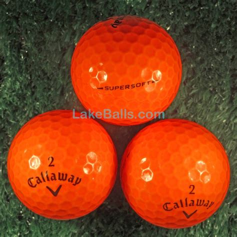 Golf Callaway Supersoft callaway supersoft orange lakeballs