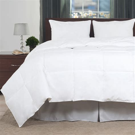 kmart down comforter lavish home 100 cotton feather down bedding comforter full queen home bed bath bedding
