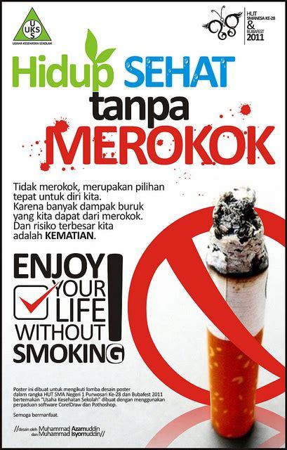 Baju Anti Rokok gambar poster anti rokok