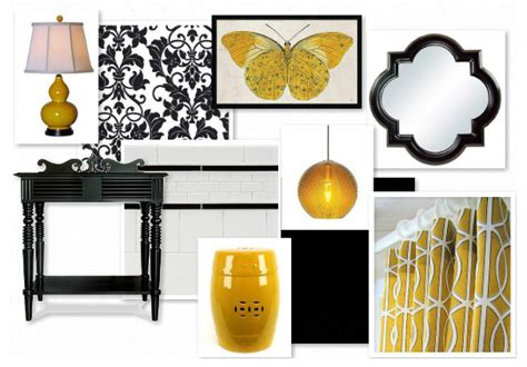 black and yellow bathroom accessories j adore decor black and yellow bathroom