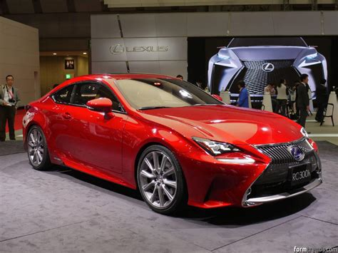 lexus red paint color trends red sets the stage for tokyo