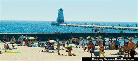 visit ludington stearns park beach, ludington, michigan