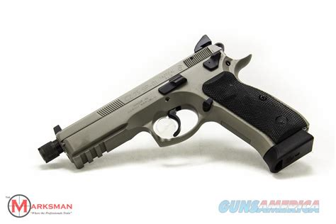Sp 01 New cz 75 sp 01 tactical suppressor ready 9mm new u for sale