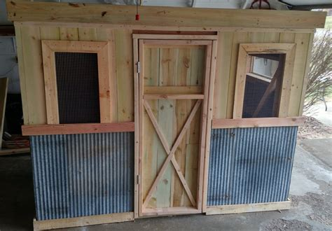 recycled chicken coop pallet project  world