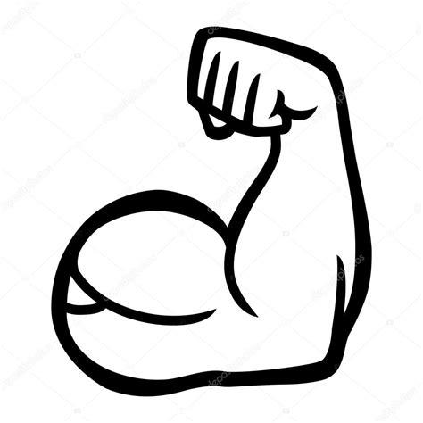 tattoo on arm vector flexi 243 n de b 237 ceps brazo vector icono vector de stock