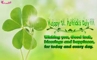 st patricks day wishes quotes quotesgram