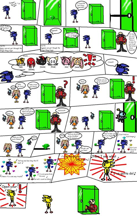 Sonic And The Green Glass Door By Sonicfangurl On Deviantart Green Glass Door Riddle Answer