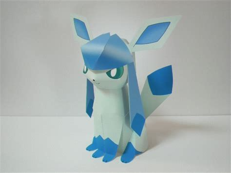 Glaceon Papercraft - glaceon nintendo papercraft