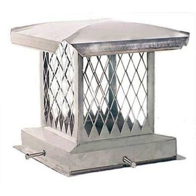 home depot chimney cap the forever cap e series 8 in x 13 in adjustable