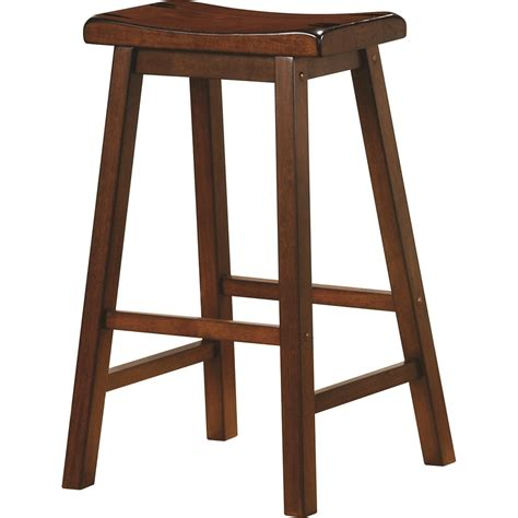 armchair bar stools coaster dining chairs and bar stools 180079 29 quot wooden bar
