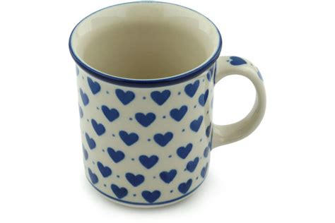 polish pottery house 10 oz mug 570bx h1751i polish pottery house
