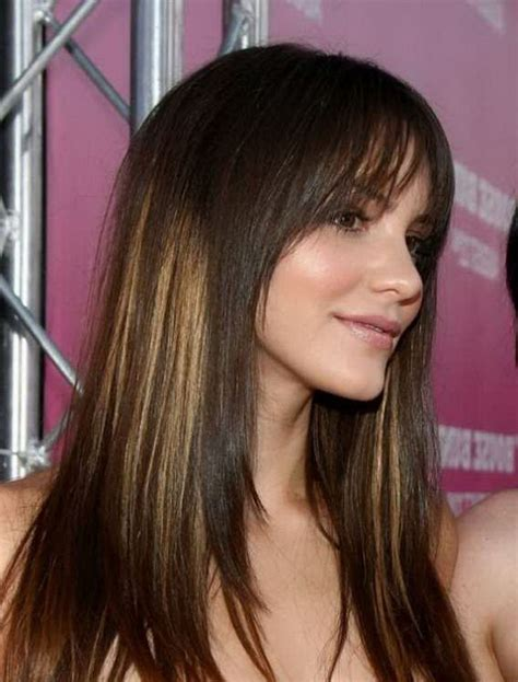 stylish hair color 2015 medium brunette trendy hair color long hairstyles