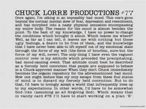 Chuck Lorre Vanity by Chuck Lorre Productions