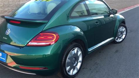 2017 Volkswagen Beetle Sel Bottle Green