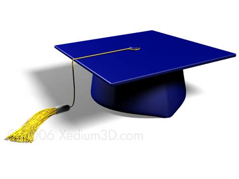 graduation cap gallery xedium3d