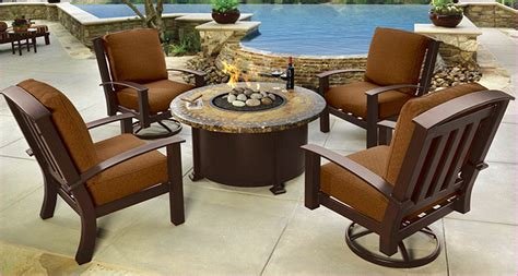 home depot patio furniture top brown highland