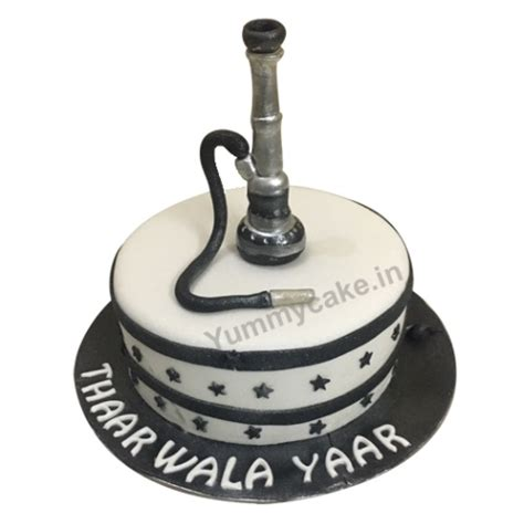 hookah birthday cake  unique design yummycake