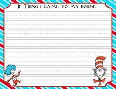 dr seuss writing paper 1000 images about dr seuss on dr seuss