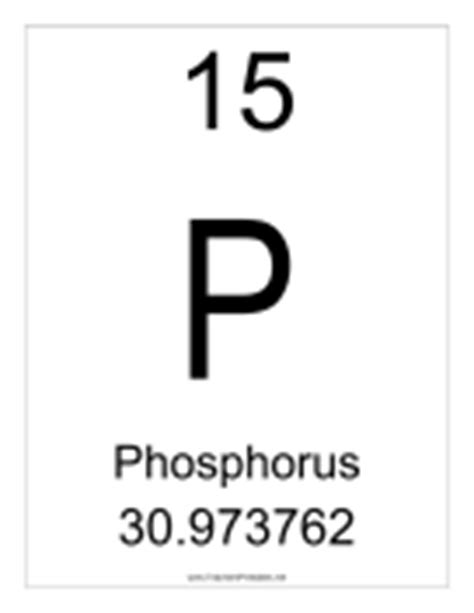 Phosphate Periodic Table by Periodic Table Of Elements