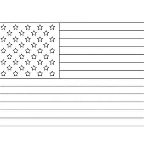united states flag printable coloring sheet united states