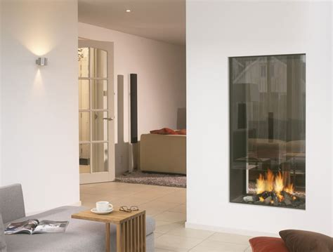 2 Sided Fireplace by 850 Modus Fireplaces