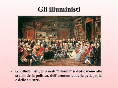 gli illuministi illuminismo