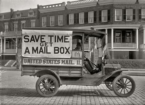 history of united states postal vehicles u s mail truck in 1916 ghosts of dc