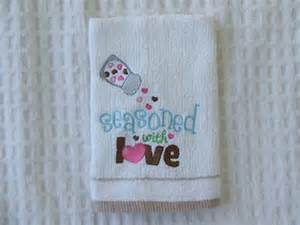 Machine Embroidery Designs For Kitchen Towels by Embroidery Kitchen Towels Http Lomets Com
