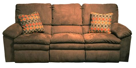 Impulse Recliner by Impulse Reclining Sofa In Chocolate Color Fabric By