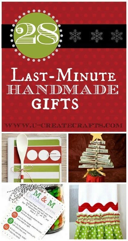 Some Handmade Gifts - some gift ideas that perhaps the whole family
