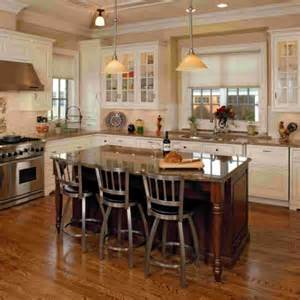 kitchen island designs ideas fdens with seating wooden window white cabinet double bro brown wood