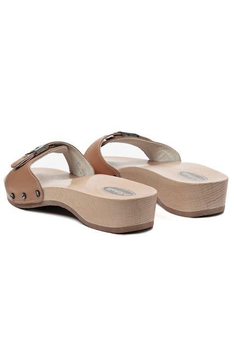 dr scholls original sandals in beige camel lyst