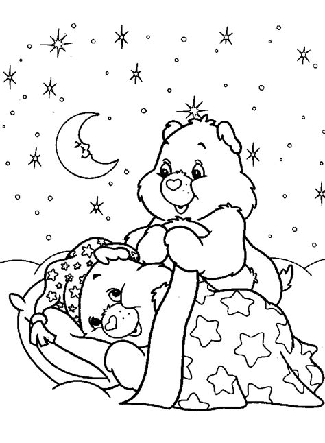 care bears coloring pages printable coloring home