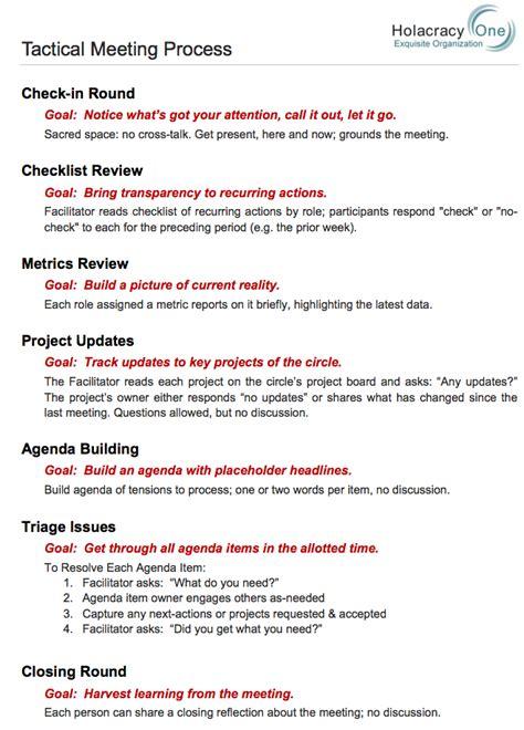 governance meeting agenda template tactical meetings 101 jean hsu medium