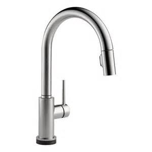 delta 9159t ar dst trinsic single handle pull down kitchen