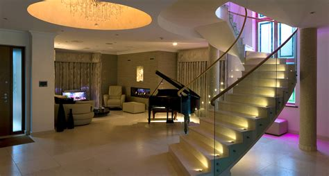 Home Recessed Lighting Design Lighting A Modern Family Home North London Brilliant