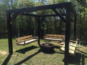 pit swing pit seating to make your outdoors cozy