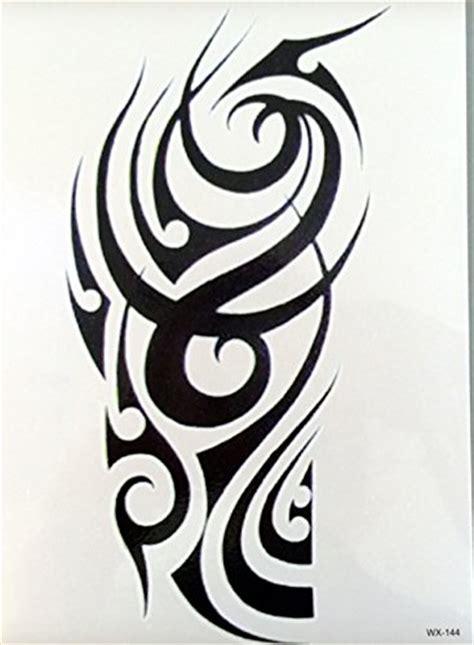 Unterarm Tattoo Aufkleber by M 196 Nner Tribal Tattoo Schwarz Tempor 228 R Arm Oberarm Tattoo
