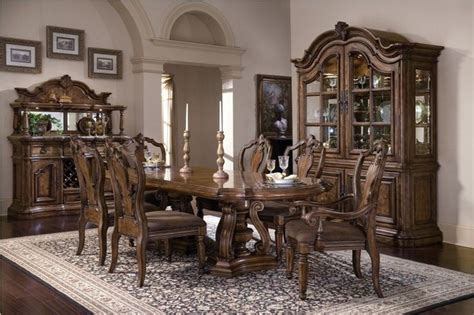 pulaski furniture dining room set pulaski furniture san mateo 5 piece dining room set