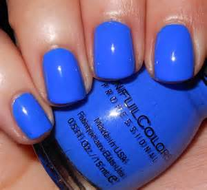 sinful colors nail imperfectly painted sinful colors endless blue