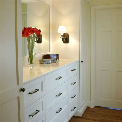 built in bedroom dresser wonderful built in dresser with mirror and sconces and