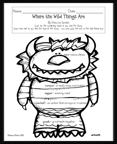 coloring pages for where the things are where the things are coloring worksheets get