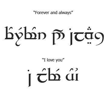family elvish tattoo for love http wwwicmercatoit elvish tattoos translation