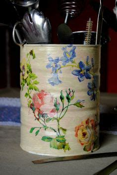 Decoupage On Plastic Containers - decoupage decoupage decoupage plastic