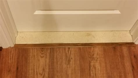 Front door entry and floating floor question